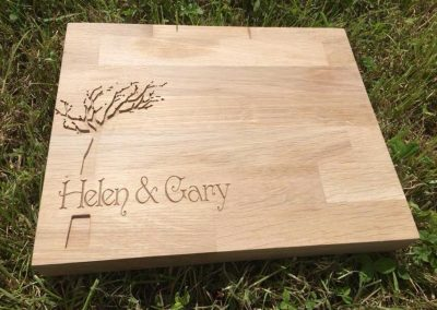 Personalised Chopping Board 1-2