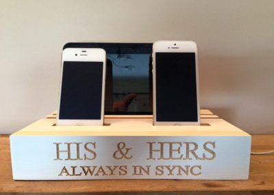 HIS & Hers Charging Dock 1-4